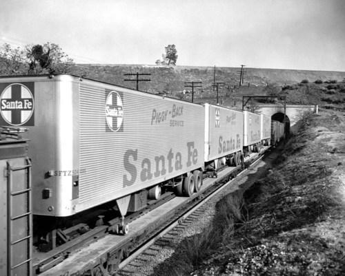 Atchison, Topeka, & Santa Fe Railway Company Tehachipi, CA tunnel 9. - Page