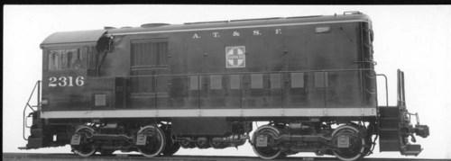 Atchison, Topeka, & Santa Fe Switch Engine 2316 - Page