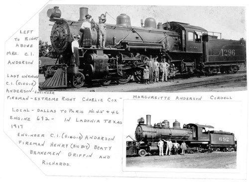 Atchison, Topeka, & Santa steam engines--#1296 and #692 - Page