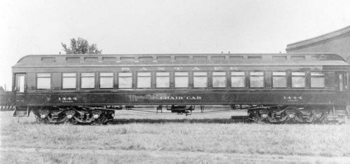 Atchison, Topeka, & Santa Fe chair car #1444. - Page
