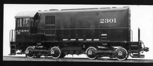 Atchison, Topeka, & Santa Fe Switch Engine # 2301. - Page