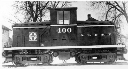 Atchison, Topeka, & Santa Fe switch engine # 400 - Page