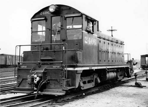 Atchison, Topeka, and Santa Fe Switch Engine # 2406, Chicago, IL - Page