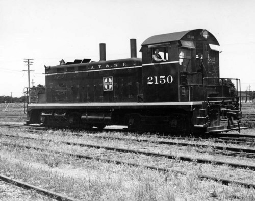 Switch engine # 2150, Arkansas City, KS. - Page