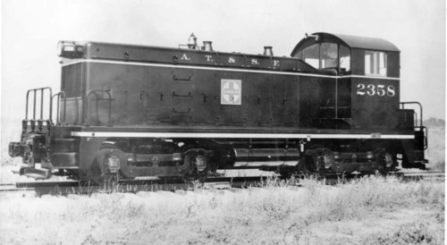 Atchison, Topeka, & Santa Fe Railway Compay Switch Engine - Page