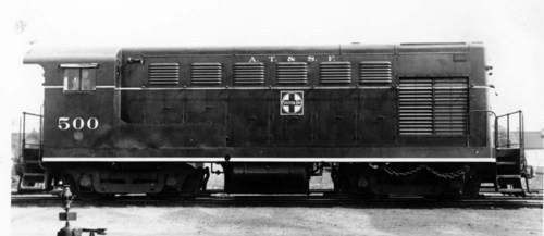 Atchison, Topeka, & Santa Fe Railway Company Switch Engine - Page
