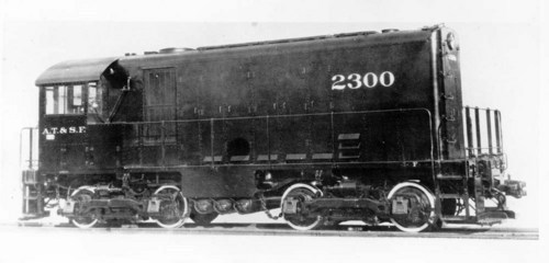 Atchison, Topeka, & Santa Fe Switch Engine 2300 - Page