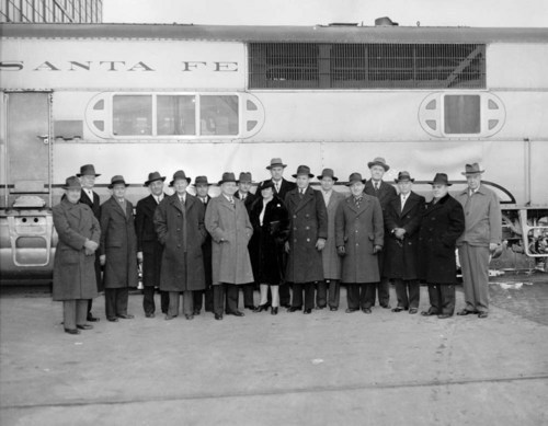 Atchison, Topeka, and Santa Fe Railway Company Officials - Page