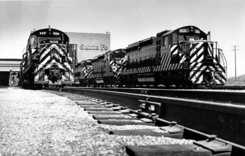 Atchison, Topeka, & Santa Fe Railway Company Yard, Argentine, Kansas - Page