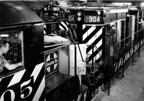 Atchison, Topeka,and Santa Fe Railway Company shops, Argentine, Kansas. - Page