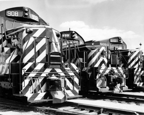 Atchison, Topeka, & Santa Fe Railway Company yards, Argentine, Kansas. - Page