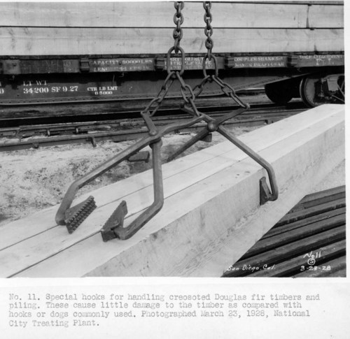 Atchison, Topeka, and Santa Fe Railway Company's tie treatment plant, National City, California - Page
