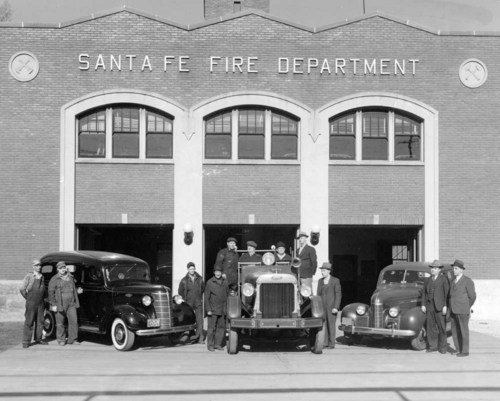 Atchison, Topeka & Santa Fe Railway Company's Fire Department, Topeka, Kansas - Page
