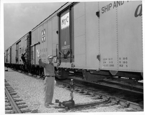 Atchison, Topeka, & Santa Fe Railway Company's refrigerator car - Page