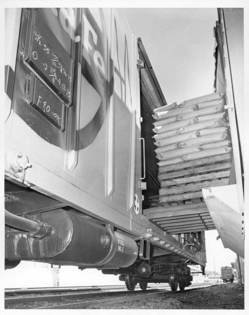 MTC being loaded with frozen lima beans - Page