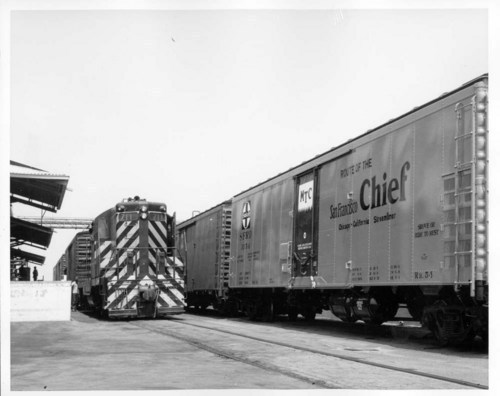 A mechanical refrigerator car and locomotive - Page