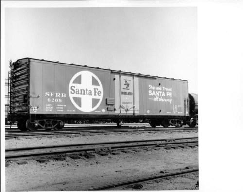 Atchison, Topeka & Santa Fe Railway Company's DF box car - Page