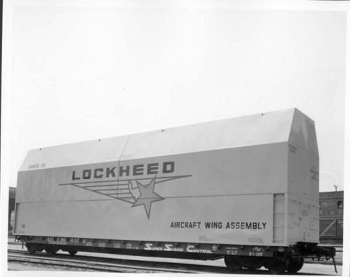Lockheed Aircraft wing assembly car - Page