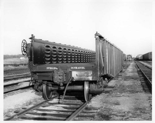 Drop-end gondola car - Page