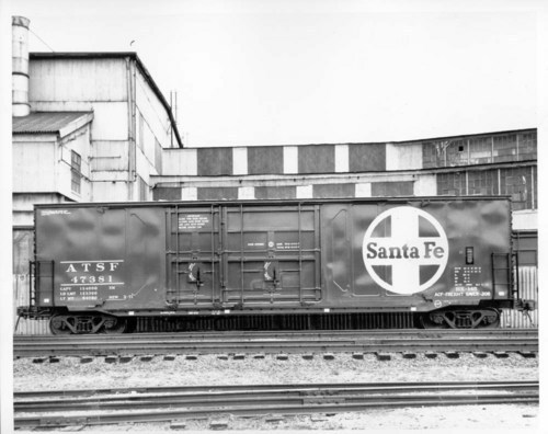 ACF boxcar with dual plug door - Page