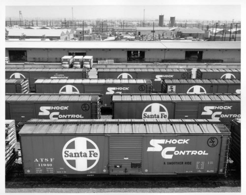 BX-79 boxcars in Hobart Yard, Los Angeles, California - Page