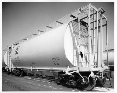 Atchison, Topeka & Santa Fe Railway Company's covered hopper car - Page
