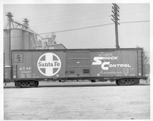 Atchison, Topeka & Santa Fe Railway Company's 50' boxcar - Page