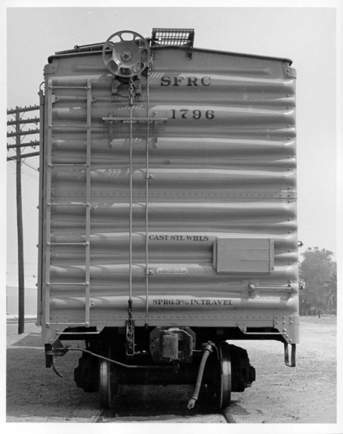 Brake rigging of boxcar - Page