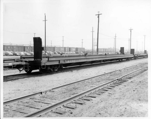 88' TOFC flat car with upper bridge plates - Page