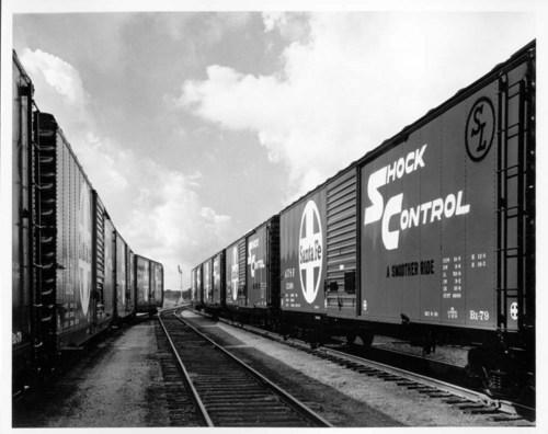 New Shock Control boxcars, Topeka, Kansas - Page